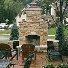Outdoor Fireplace Accessories - outdoor u0026 patio fireplace building u0026 repair smoke stacks inc