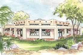 pueblo house plans santa fe style house plans courtyard pueblo home modern