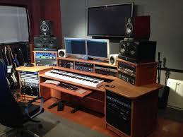 music studio desk workstation outstanding furniture artisan