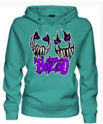 twiztid wicked smiles jade fleece hoodie