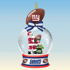 new york giants snow globe ornaments your 1st one is free the