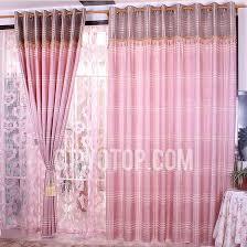 Light Pink Blackout Curtains Bedroom Plaid Light Pink Blackout Curtains