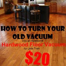 turn your vacuum into a great hardwood floor vacuum