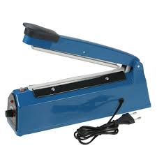 220v 50hz manual plastic film sealer heat impulse sealer poly