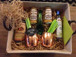 Gift Baskets Food Moscow Mule Gift Basket P A R T Y Gifts Packaging