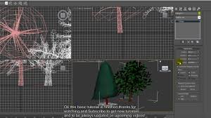 3d Max by 3ds Max Tree Tutorial Youtube