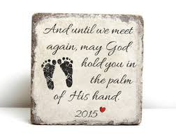 infant loss gift infant loss memorial personalized gift 6x6 tumbled
