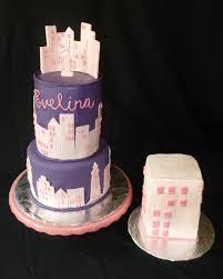 interior design amazing new york themed cake decorations cool