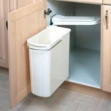 garbage can under the sink under sink trash can cabinet garbage bin garbage kitchen cabinet