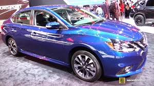 nissan sentra 2017 interior 2017 nissan sentra sr turbo exterior and interior walkaround