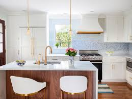 White Kitchen Glass Backsplash Kitchen Black Trim Windows Contemporary Extension Exposed Lights