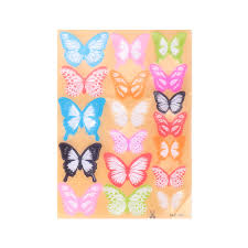 Butterfly 3d Wall Art by Online Shop Creative 18pcs Crystal Butterfly 3d Wall Stickers