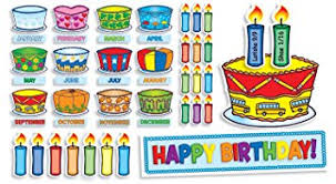 birthday board scholastic birthday cakes mini bulletin board tf8072