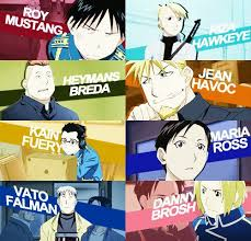 does roy mustang stay blind fullmetal alchemist brotherhood roy mustang and riza hawkeye