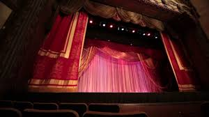 Stage Curtain Track Hardware by Rental Traveler Track Grand Cabaret Curtain At The Warner Grand