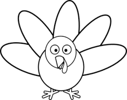 coloring page trendy turkey drawing coloring pages