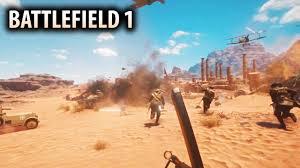 World Deserts Map by Battlefield 1 Open Beta Details New Multiplayer Gameplay