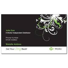 designs it works distributor business cards as well as it works