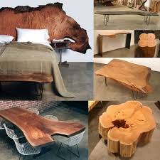 Top  Best Raw Wood Ideas On Pinterest Log Furniture Tree - Tree furniture