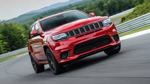 jeep grand cherokee rear bumper jeep grand cherokee trackhawk 2017 review by car magazine