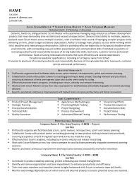 Strategic Planning Resume Scrum Master Resume Example U0026 Tips For 2017 Zipjob