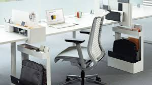 Schreibtisch Dreieckig Schreibtisch Für Open Space Holz Stahl Laminat Frameone