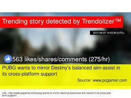 is pubg cross platform pubg wants to mirror destiny s balanced aim assist in its cross