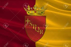 Flag Capital Flag Of Rome Is A City And Special Comune In Italy Rome Is The