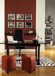 red home office ideas resplendently red home office paint
