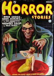 Seeking Horror 15 Best Horror Stories Pulp Fiction Magazine Covers Images On