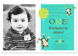 boy monkey first u2013 bagvania free printable invitation template