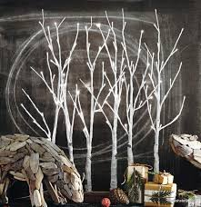 Lighted Branch Tree Roost Lighted Birch Grove U2013 Modish Store
