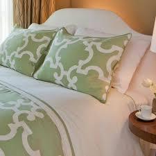 green patterned bedding the noe green crane u0026 canopy