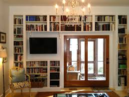 15 best ideas of home library shelving system