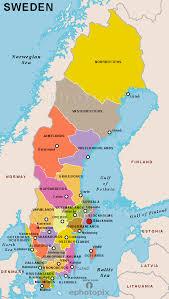map of sweden sweden provinces map provinces map of sweden sweden country