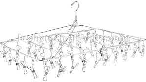 photo hanger clips china stainless steel 48 laudry clips hanger factory manufacturers