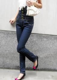 High Waist Bootcut Jeans Women U0027s High Waist Single Breasted Tight Boot Cut Jeans Pants