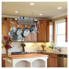 kitchen island pot rack kitchen pot racks chronicmessenger com
