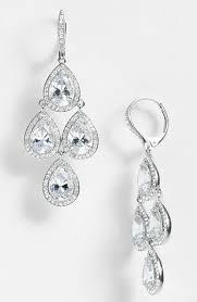 Cubic Zirconia Chandelier Earrings Nadri Cubic Zirconia Chandelier Earrings Nordstrom Exclusive