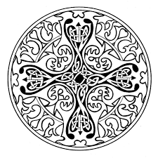 celtic cross coloring pages get coloring pages