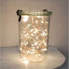 kikkerland copper string battery lights