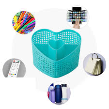 Heart Bathroom Accessories Aliexpress Com Buy Heart Shape Home Living Plastic Storage Box