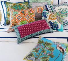 Pottery Barn Lumbar Pillow Covers Foulard Dot Scarf Print Lumbar Pillow Cover Pottery Barn