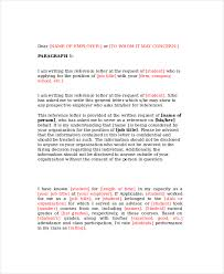 general letter format reference letter template 11 free word pdf document downloads