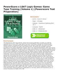 download pdf powerscore s lsat logic games game type training