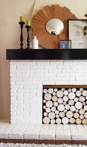 Artificial Logs For Fireplace by Fake A Stack Of Wood Logs In Your Fireplace Babble