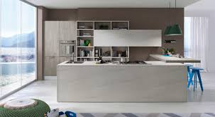 contemporary kitchen laminate system collection pedini