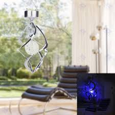 wind spinners with led lights lighten color changing solar power led wind chimes wind spinner