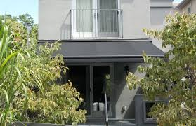Contemporary Retractable Awnings Modern Black On Grey Rolltec Retractable Awnings Toronto