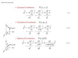 derivation of heat conduction equation in spherical coordinates